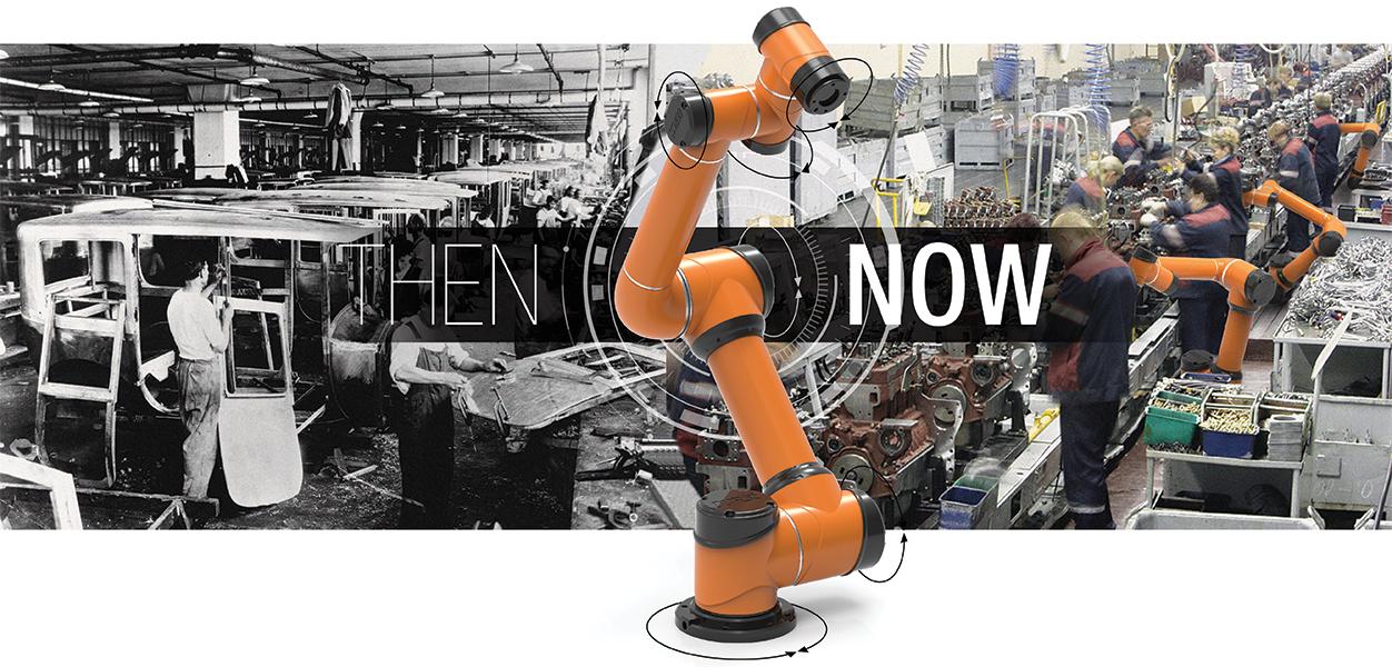 robô colaborativo aubo i5 vantagem na automação industrial