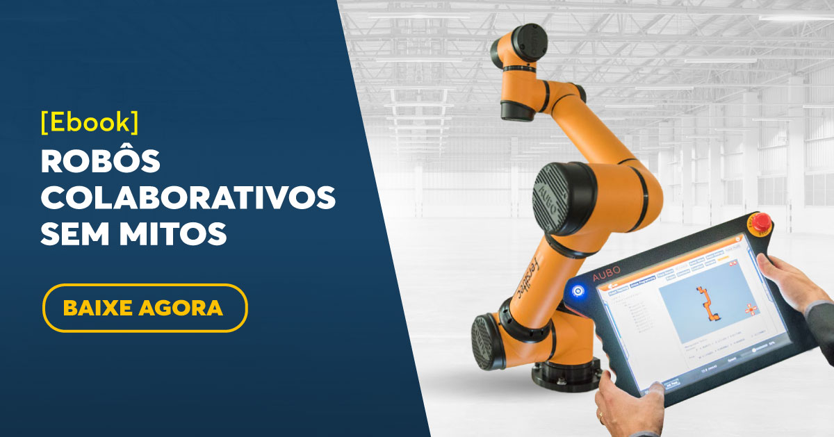 5 motivos para não ignorar a robótica colaborativa na planta industrial