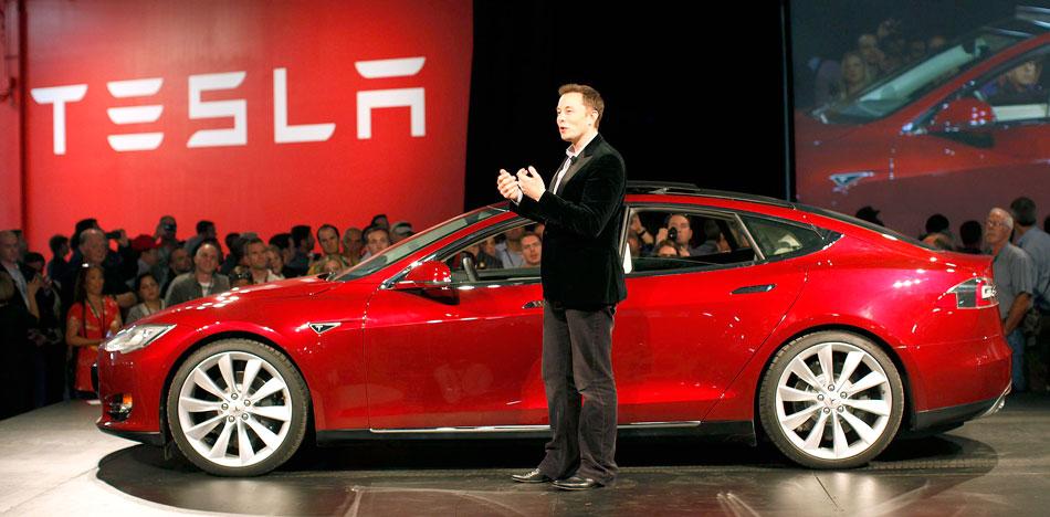 Tesla elon musk automação industrial