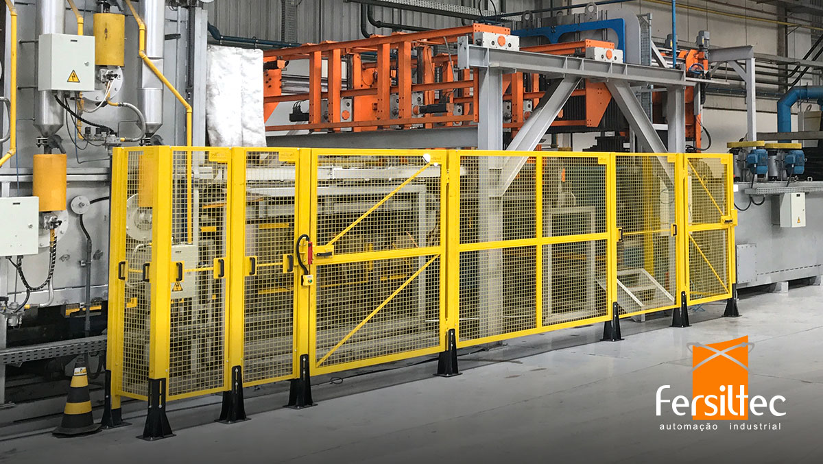 Segurança do maquinário fabril